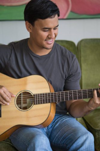 TODAY (JULY 27TH) – Listen to Blayne Asing at the LahainaRestoration Foundation's free monthly Hawaiian Music Series; photo courtesy the artist.
