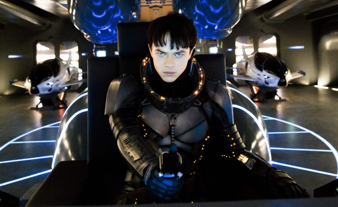 "Dane DeHaan stars in ""Valerian and the City of a Thousand Planets."" • STX Entertainment via AP photo"