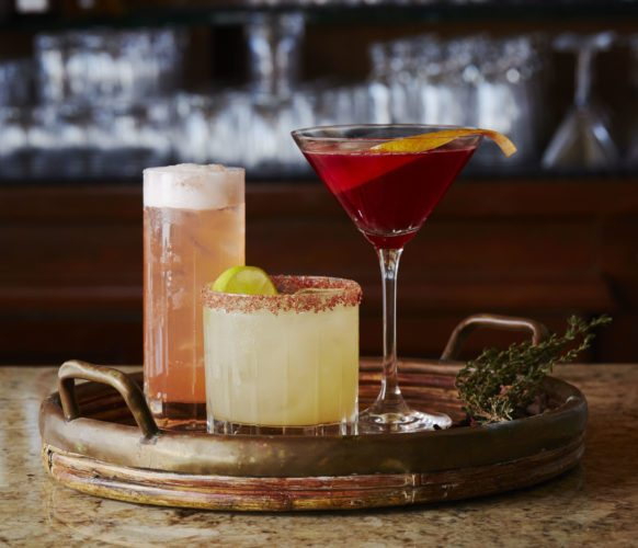 Creative cocktails will quench your thirst at the  Luana lobby lounge at the Fairmont Kea Lani in Wailea in August. • RACHEL OLSSON photo