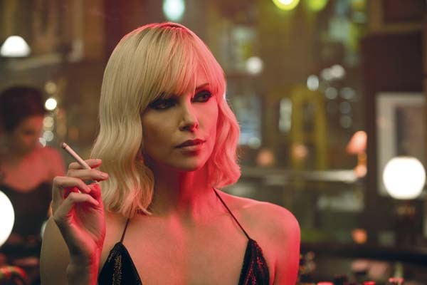 "Charlize Theron stars in ""Atomic Blonde."" Focus Features via AP photo"