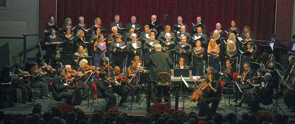 """The Maui Chamber Orchestra and Chorus performing Handel's """"Messiah."""" Photo courtesy Maui Chamber Orchestra"""
