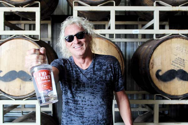 Owner Mark Nigbur of Hali'imaile Distilling Co. will be all over Maui's map this month with fun cocktail drinks and promotions. The Maui News / CARLA TRACY photo