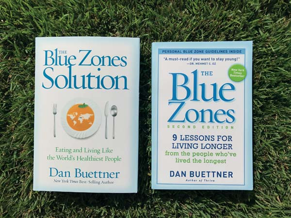 """The Blue Zones"" books give readers ways to live longer and stay healthier, according to supporters."
