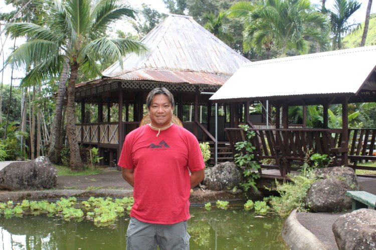 Chef Instructor Jake Belmonte of the University of Hawaii Maui College Culinary Arts Program will present an event on campus to help Bahay Kubo in Iao Valley from further deterioration. • Lechon photo courtesy UH-Maui College