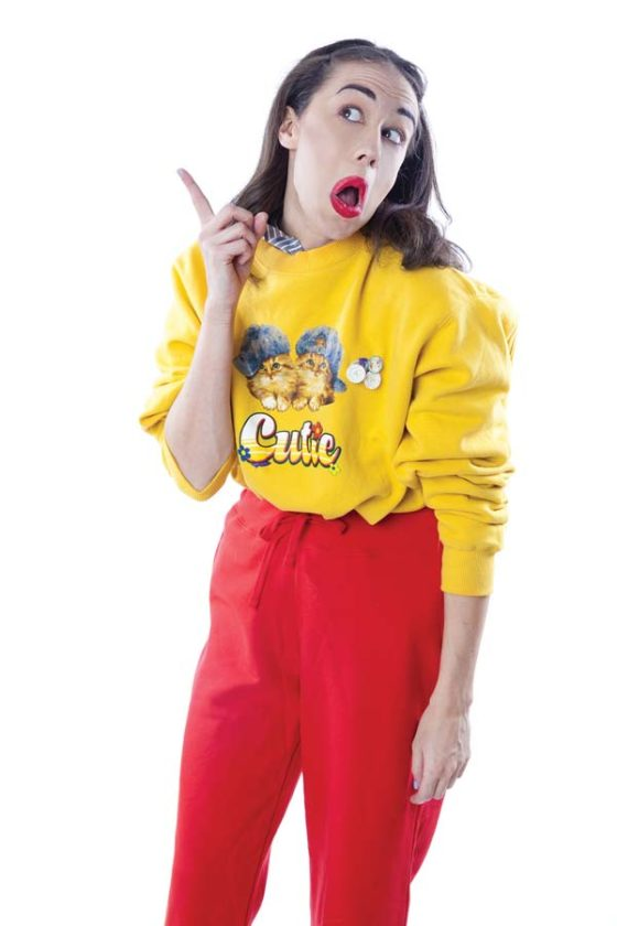 Miranda Sings, the overconfident, vocally-challenged alter-ego of comedian Colleen Ballinger visits in December. Photo courtesy the MACC