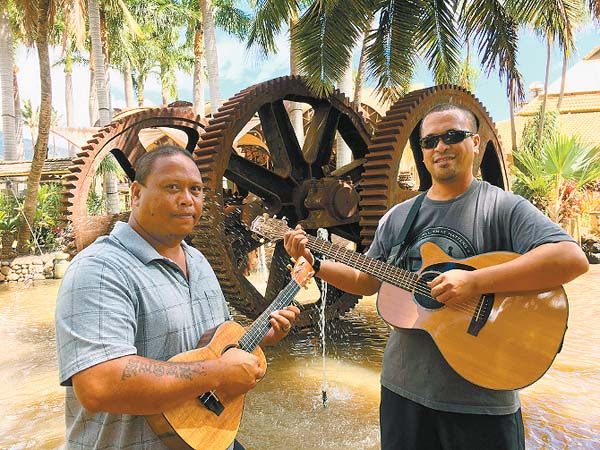 Ahiwela's Zacc Kekona (left) and Jacob de la Nux • Today; Karee Carlucci photo