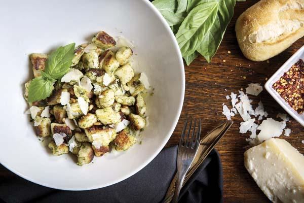 Pan-fried gnocchi Genovese; Westin KOR photo