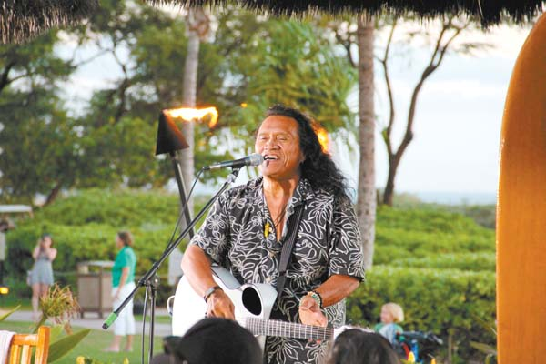 Catch Henry Kapono at 5 p.m. Friday at Duke's Beach House in Kaanapali. The Maui News file photo