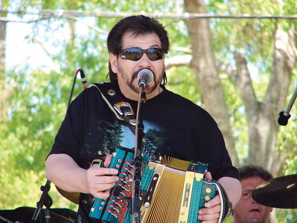 Accordionist Jo-El Sonnier will get you tapping your feet to Cajun music and more on Friday. Photo courtesy the artist