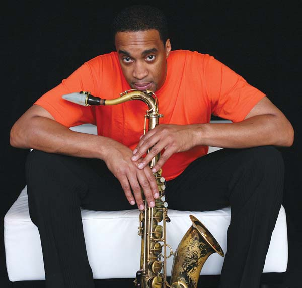 Saxophonist Javon Jackson is one of the featured performers at Friday's Maui Jazz & Blues Festival in Wailea. Photo courtesy the artist