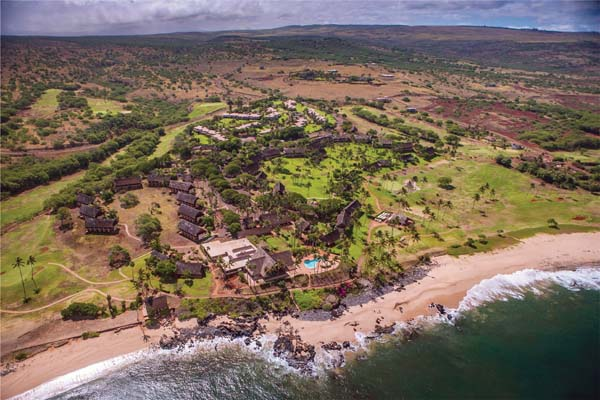 Molokai Ranch's 55,575 acres include the shuttered Kaluakoi Resort and nearby condominium complexes. Carvill Sotheby's International Realty photo