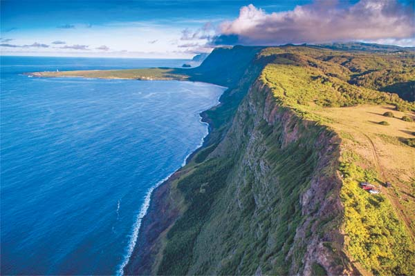 Molokai Ranch's land, which is for sale with a price tag of $260 million, encompasses a third of the island and includes 20 miles of coastline and 4,000 acres of forest. Carvill Sotheby's International Realty photo
