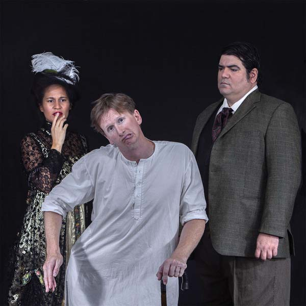 "Hoku Pavao Jones (from left), Ricky Jones and Francis Tau'a star in Bernard Pomerance's multi award-winning play, ""The Elephant Man,"" opening Sept. 22 at the ProArts Playhouse in Kihei. Ricky Jones photo"