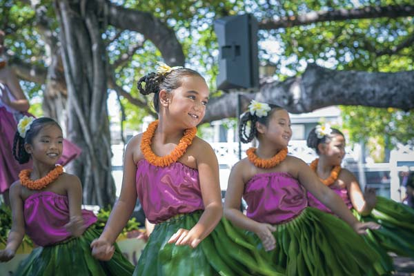 Lahaina Banyan Tree Ho'olaule'a two-day celebration. Photo priovided by Smythe Fujiwara Design