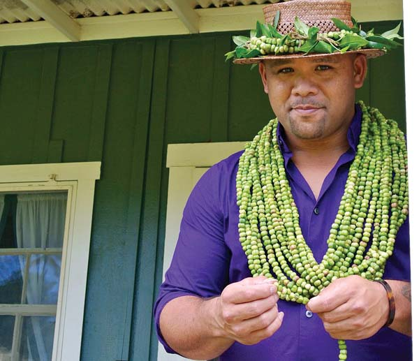 Kuana Torres Kahele in concert Wednesday at The Shops At Wailea. The Maui News file photo