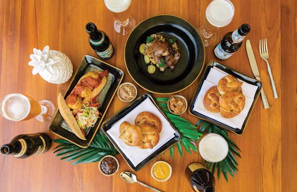 Hearty German food and Oktoberfest beers will be on tap Friday in Kapalua. -- Montage Kapalua Bay photo