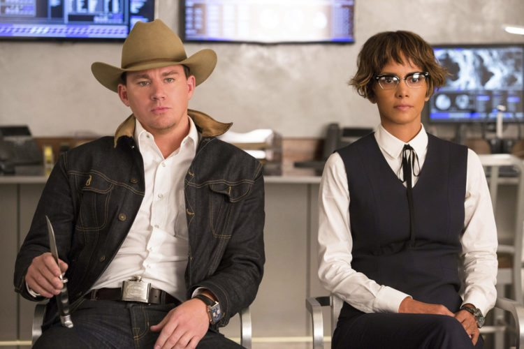 "Channing Tatum and Halle Berry star in ""Kingsman: The Golden Circle"" • Twentieth Century Fox via AP photo"