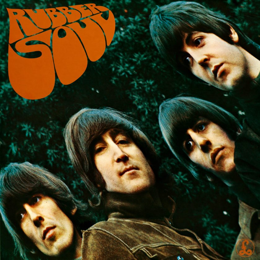 """The Beatles' sixth studio album, 1965's """"Rubber Soul"""" with George Harrison (from left) John Lennon, Ringo Starr and Paul McCartney ranks fifth on Rolling Stone magazine's 2012 list of """"The 500 Greatest Albums of All Time."""""""
