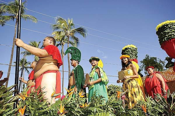 The Molokai parade and hoolaulea will feature colorful floats Oct. 7. -- The Maui News / Photo courtesy Festivals of Aloha