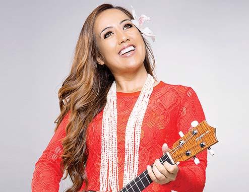 Raiatea Helm will perform on Lanai on Saturday. -- The Maui News / Photo courtesy Festivals of Aloha