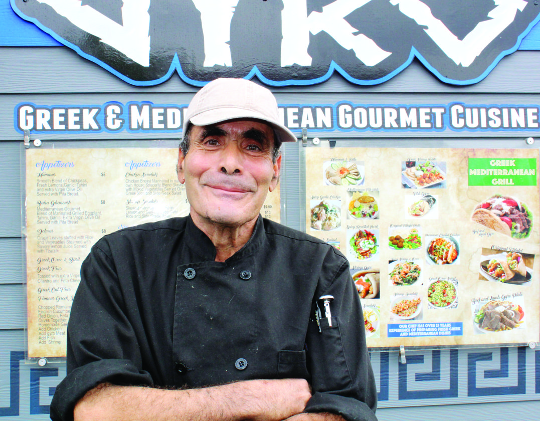 Veteran food truck chef and operator Dale Hanna of Gyro at Home Depot in Kahului has  plans to roll other Greek food trucks into Kihei as well as Lahaina in the coming months.  • Carla Tracy photo