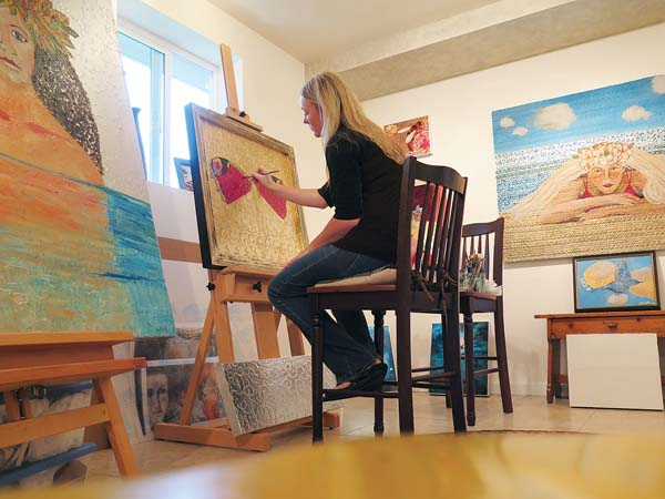 Artist Rachel Horton will be one of the artists featured during this year's Maui Open Studios Event. -- RACHEL HORTON photo