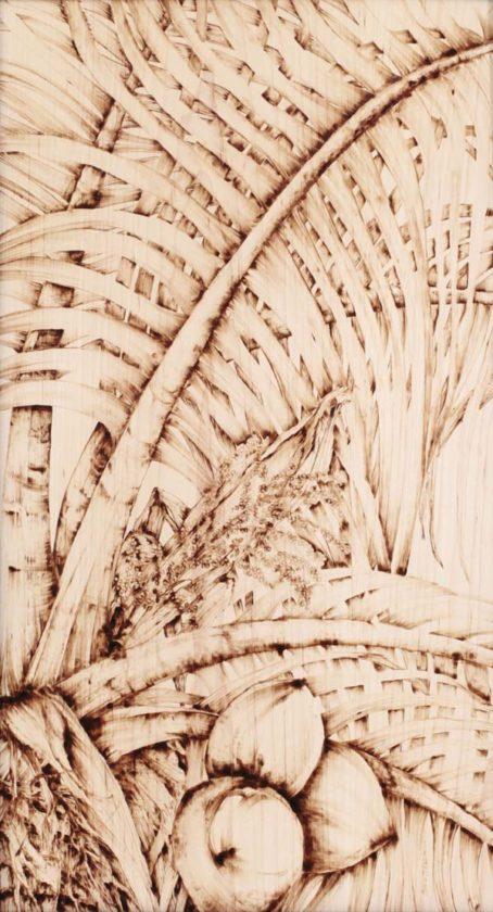 """Palm"" by Christine Halton -- Photo courtesy Maui Hands Galleries"