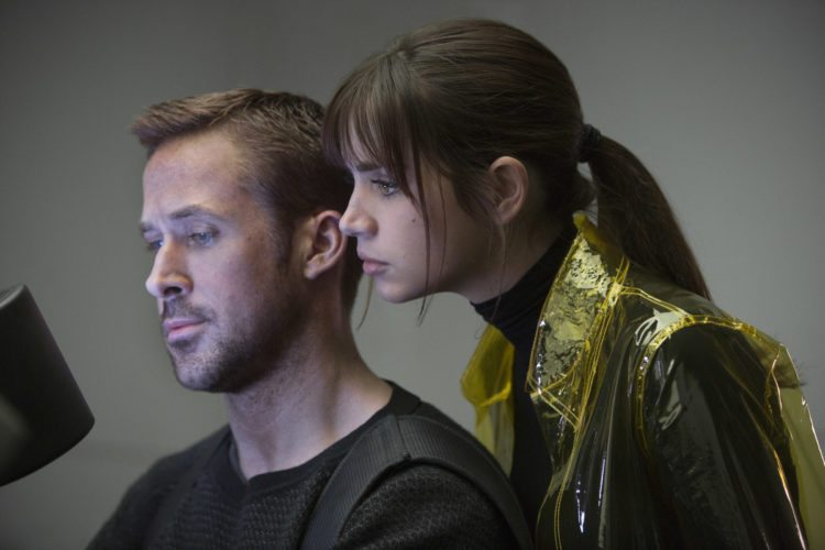 "Ryan Gosling and Ana de Armas star in ""Blade Runner 2049"" • Warner Bros. Entertainment via AP photo"
