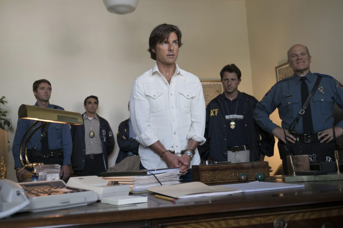 "Tom Cruise stars in ""American Made."" • Universal Pictures photo via AP"