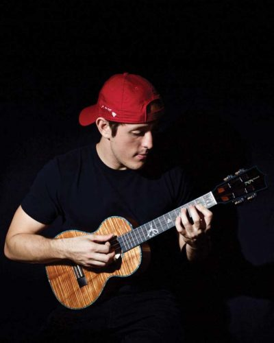 Andrew Molina will be one of the musicians performing at the 12th annual Maui Ukulele Festival beginning at 1 p.m. Sunday at the Maui Arts & Cultural Center's A&B Amphitheater in Kahului. Gates open at 12:30 p.m. Admission to the festival is free. Ukulele will be featured as door prizes, and the festival will also display made-in-Hawaii arts and crafts. For more information, call 242-7469 or visit www.mauiarts.org. Photo courtesy the artist