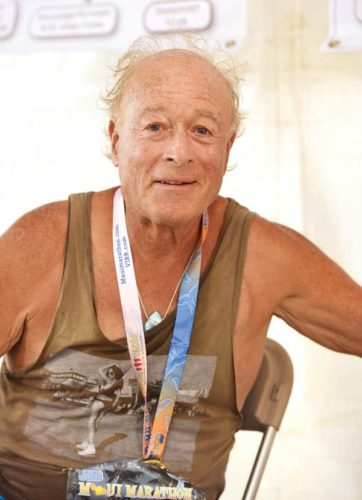 Barry Sultanoff was the 70-74 division runner-up in the 5-kilometer race that took place Sunday in conjunction with the Maui Marathon. The Maui News / MATTHEW THAYER photo