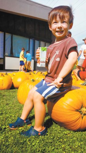 Emmanuel Lutheran Pumpkin Festival • Friday; photo courtesy Desiree Omura