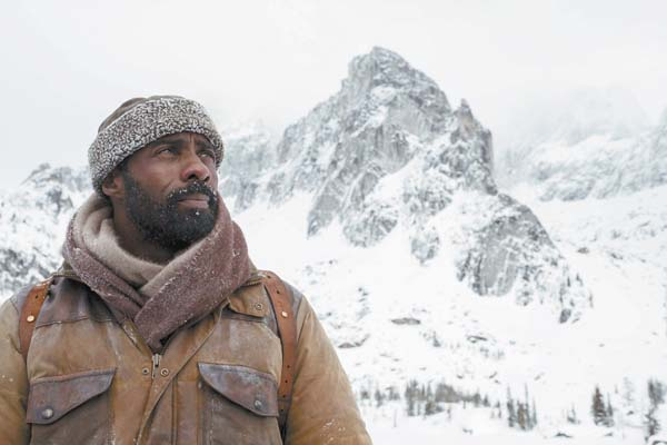 "Idris Elba stars in the romance/survival movie ""The Mountain Between Us."" Twentieth Century Fox via AP photo"