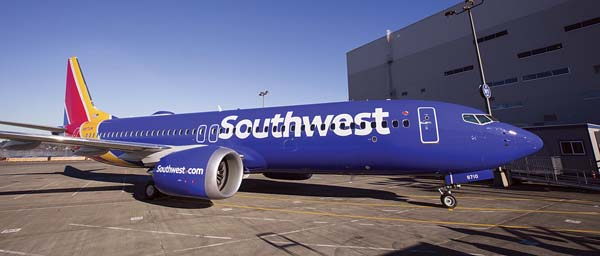Southwest Airlines announced earlier this month that it intends to enter the Hawaii market in 2018 and will be using the 737 MAX 8 aircraft, which it began flying this month. -- Southwest Airlines photo