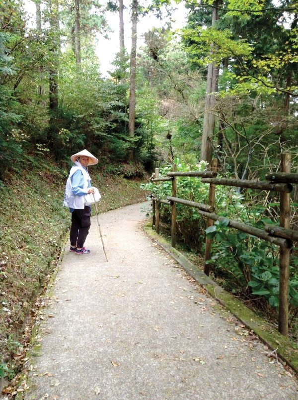 Melinda Clarke inspires others to live a life of peace and purpose. She has walked the Shikoku Pilgrimage route three times since 2014 — and she's not ruling out more pilgrimages in the years to come.