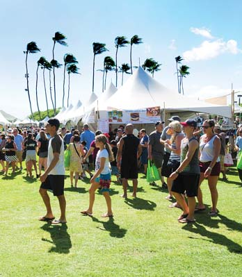 More than 11,000 shoppers attended last year's Made in Maui County Festival at Maui Arts & Cultural Center in Kahului. -- Photo courtesy Made in Maui County Festival