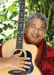 George Kahumoku Jr., an honorary member of the Rotary Club of Lahaina Sunset, will provide musical entertainment aboard the Sunset/Full Moon Cruise on Nov. 5.