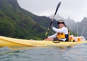 Curt Storlazzi will share findings about his fieldwork in Hawaii. -- U.S. Geological Survey photo