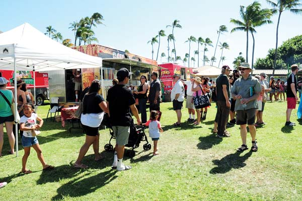 The Made in Maui County Festival on Friday and Saturday at the Maui Arts & Cultural Center in Kahului will be chock full of things to eat — by vendors as well as three food trucks on Friday and 13 on Saturday. Made in Maui County Festival photo