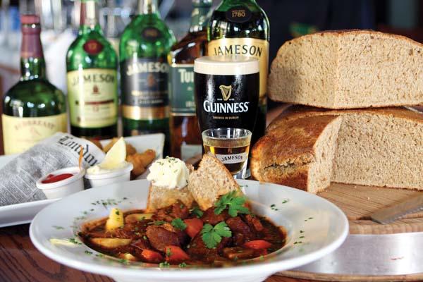 Mulligans on the Blue Irish stew; photos courtesy restaurants
