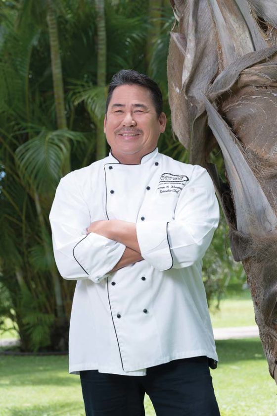 Executive Chef Tom Muromoto of Ka'anapali Beach Hotel will return to Taste of Asian Blend with his famous fare of Koala rack of lamb and Kobe beef sliders. Ka'anapali Beach Hotel photo