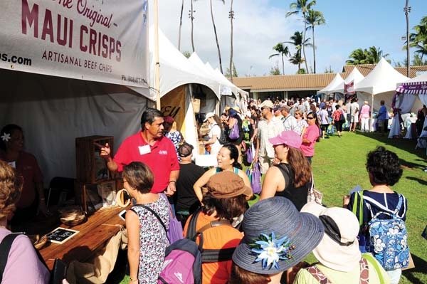 Made in Maui County Festival at the Maui Arts & Cultural Center; photo provided by MACC.