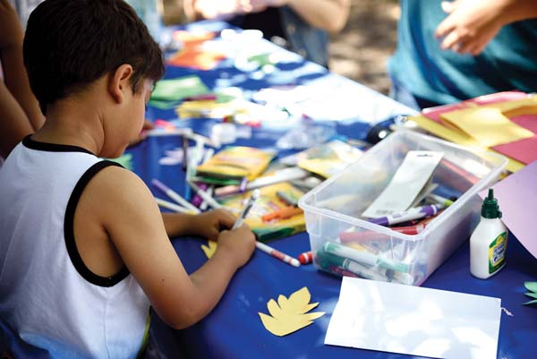 The Lahaina Arts Association hosts free after-school art classes in Maui Nui. -- Photo courtesy LAA