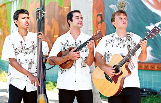 The open mic will kick off with a performance by traditional and contemporary Hawaiian music group Kuikawa.