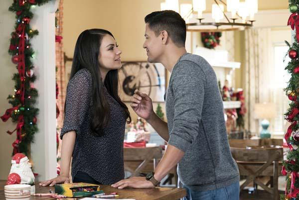 "Mila Kunis and Jay Hernandez star in ""A Bad Moms Christmas."" STX Entertainment photo via AP"