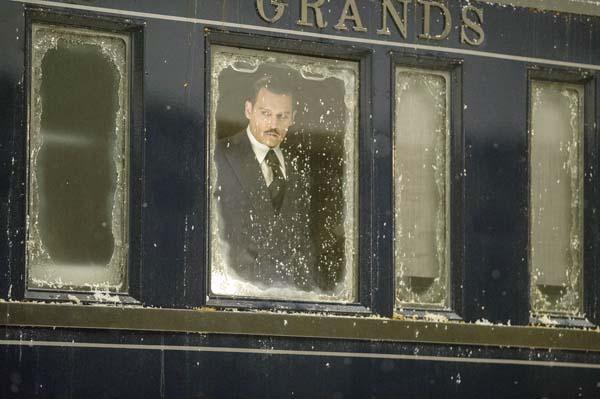 """Johnny Depp stars in """"Murder on the Orient Express."""" Twentieth Century Fox photo via AP"""