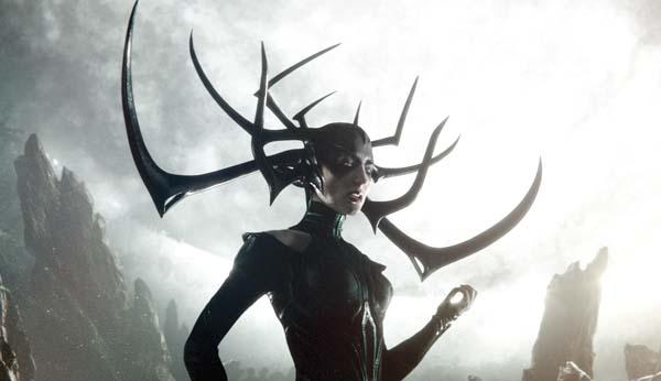 "Cate Blanchett stars in ""Thor: Ragnarok."" Marvel Studios photo via AP"