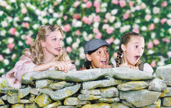 """Sara Jelley (from left), Kanoa Gorring and Dakota Welch star in the Maui OnStage Hawaii premier of Ian Fleming's """"Chitty Chitty Bang Bang"""" Nov. 24 through Dec. 10 at the Historic Iao Theater in Wailuku. Performances are at 7:30 p.m. Fridays and Saturdays and 3 p.m. Sundays, with special 2 p.m. matinee performances on Dec. 2 and 9. For more information or to purchase tickets, call 242-6969 or order online at www.mauionstage.com. Brett Wulfson photo"""