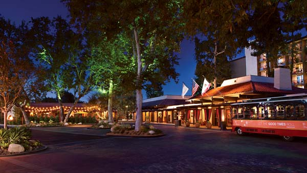 The Garland retro-cool lodging is nearby. -- Photo courtesy Los Angeles Tourism & Convention Board