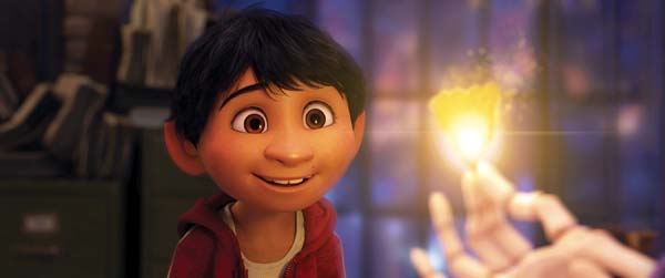 "The voice of Anthony Gonzalez, as Miguel, stars in ""Coco."" Disney/Pixar photo via AP"
